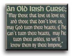 An Old Irish Curse