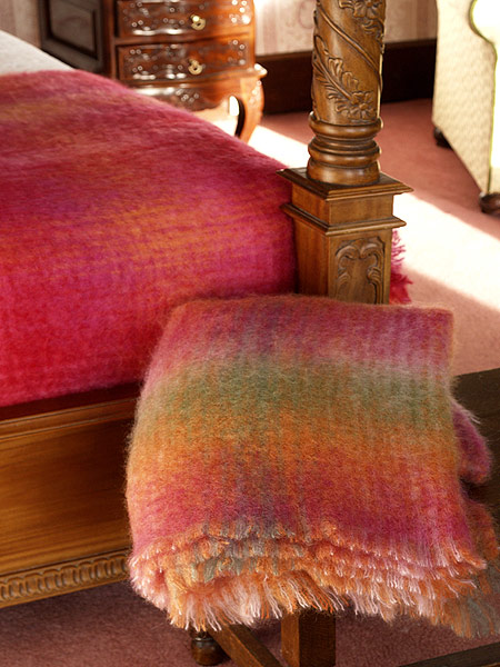 Irish Mohair Blankets