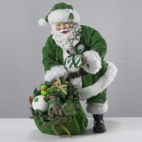 Irish Musical Santa with Presents