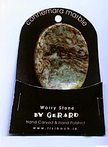 Worry Stone -Connemara Marble Irish gift