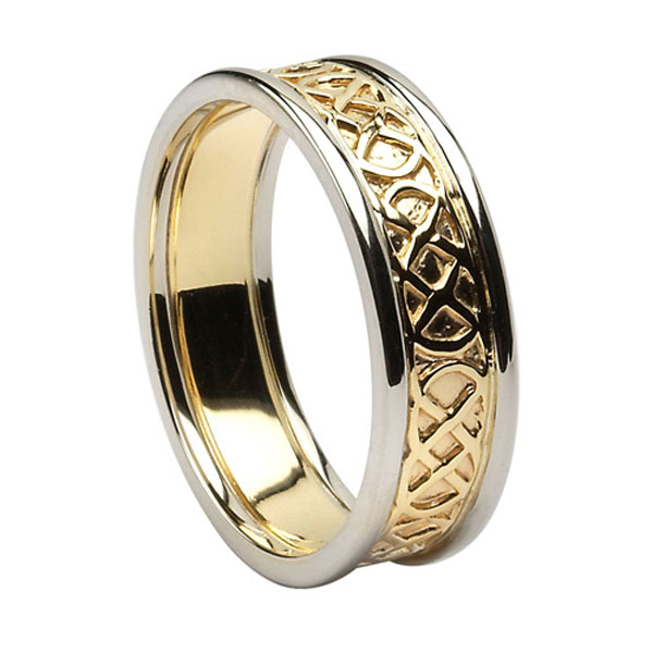 celtic knot wedding bands